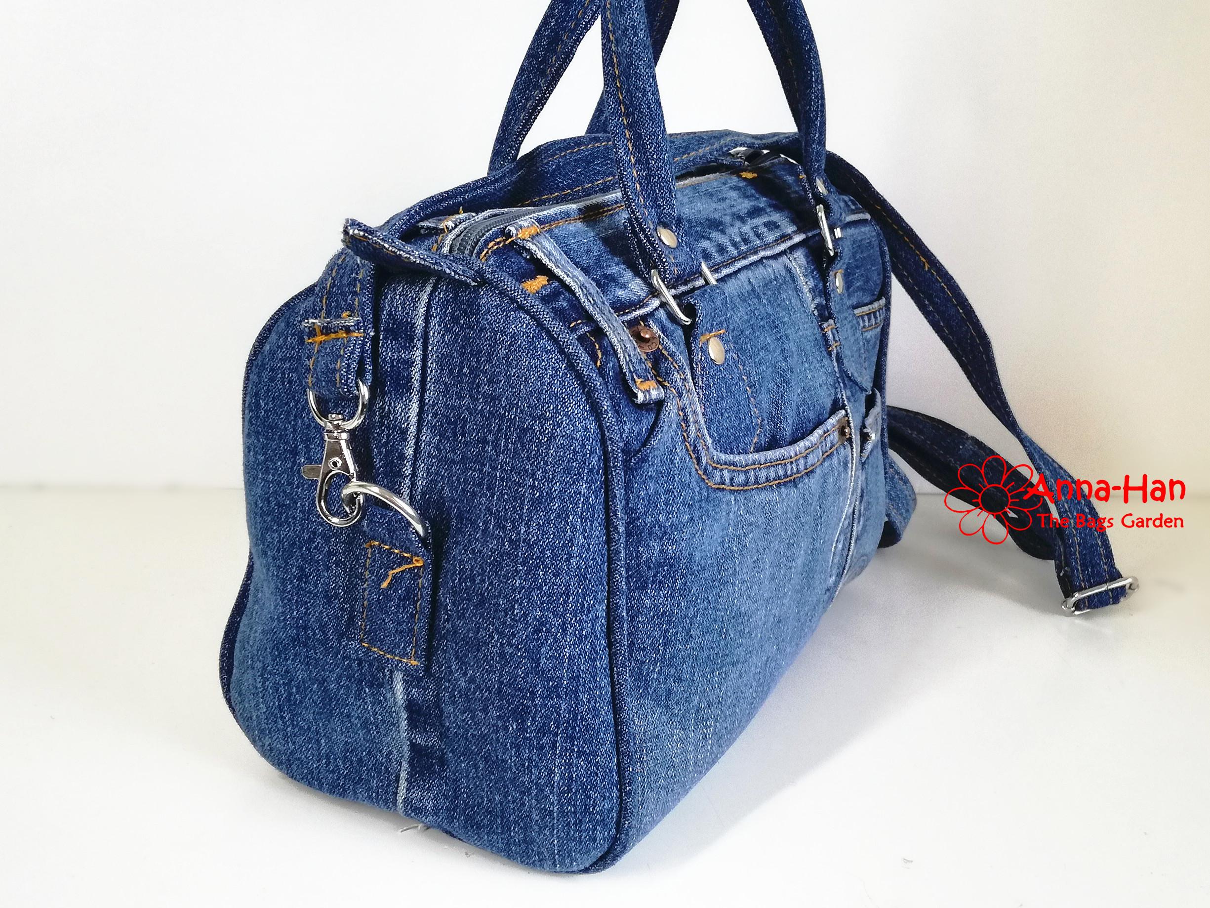 Jb05 Ellipse Jean Handmade Bag The Bags Garden